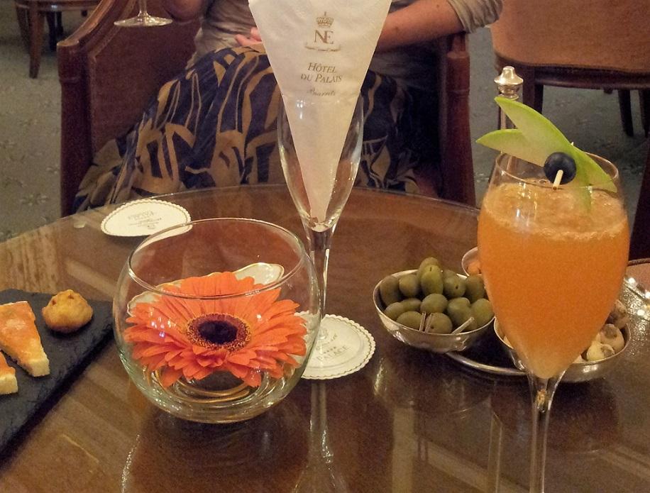 Cocktails at the Hôtel du Palais